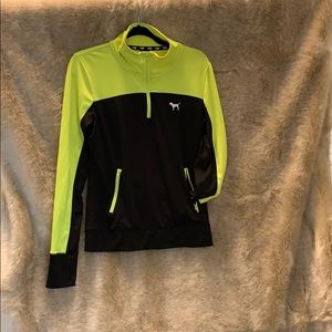 EUC PINK Ultimate neon yellow/black pullover